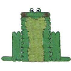 Craft Stick Frog Craft
