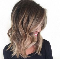 Brown and blonde habit salon