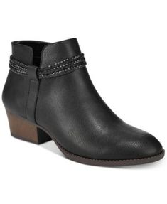 035640eabb1 Style  amp  Co Women s Fellicity Ankle Booties
