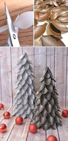 árboles de navidad creativos 18