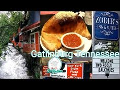 Gatlinburg Rivers Rise and Best Italian Restaurant Review - YouTube