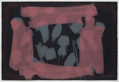 Howard Hodgkin - Black Blush 2015 - 2016 29 x 44 76 x Hand-painted carborundum relief on Velin Arches Noir paper Abstract Shapes, Abstract Art, Howard Hodgkin, What Are Colours, Composition Design, Art Images, Printmaking, Artsy, Hand Painted