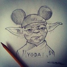 Yoda Mickey