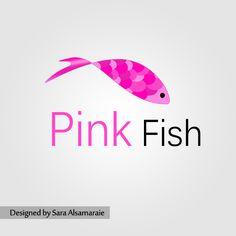 Pink by rosesfairy on DeviantArt Pink Fish, Fish Design, Deviantart, Logos, Logo