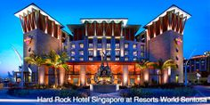 Resorts World™ Sentosa Staycation – 2D1N Hard Rock Hotel® Singapore Stay   >>  http://www.coupark.com/singapore-deal/109854/hard-rock-hotel.html