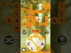 Wordscapes Fall Autumn Answers