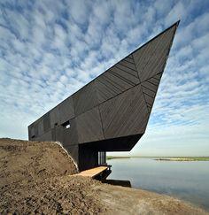 Almere, Netherlands  Natuurbelevingcentrum De Oostervaarders  Drost + van Veen architecten