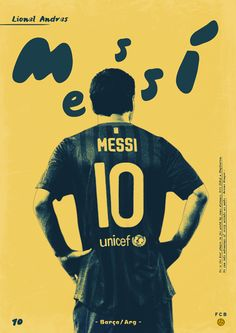 #soccer #poster #messi