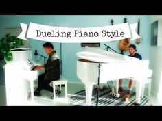 This Town - Chester See & AJ Rafael - Cover - Niall Horan - Dueling Pianos Chester See, Niall Horan, Album, Songs, Cover, Youtube, Life, Pianos, Slipcovers