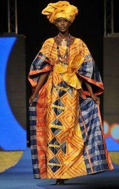Alphadi's Dakar Fashion Week collection, June 2012