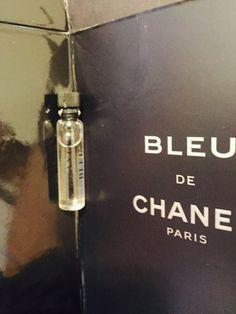 Chanel de bleu Men cologne sample new