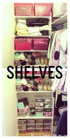 Ella Pretty: A Peek Inside My Walk-In Closet & Organization Tips