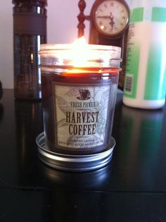 Bbw Harvest Coffee Candle And Cider Lane Candle Alone