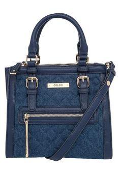 Bolsa Colcci Matelassê Azul