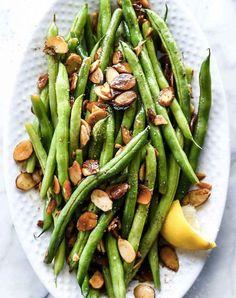 brown butter green beans almondine recipe