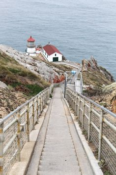 Point Reyes lighthouse | San Francisco day trip out to Marin County | MontgomeryFest