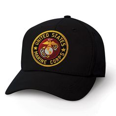 559ec5fd113 Eagle Globe and Anchor USMC Patch on a Hat  Grunt  USMC  patchhats