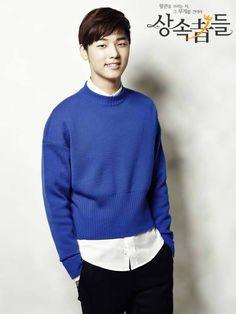 Kang Min Hyuk as Yoon Chan Young in 'Heirs' #kdrama