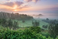Tuscany Morning by Michal Vitásek on 500px