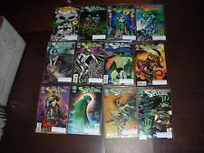 THE SPECTRE 12 BOOK LOT ALL SIGNED BY TOM MANDRAKE BALTIMORE 2009 W/C.O.A. D.C.
