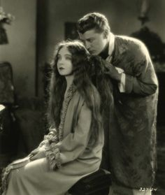 Lillian Gish and Ralph Forbes From THE ENEMY c.1927  (Source: maudelynn.tumblr.com )