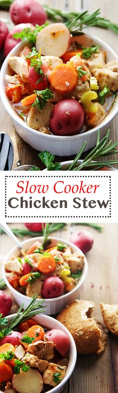... Slow Cooker Chicken Stew on Pinterest | Slow Cooker Chicken, Stew and