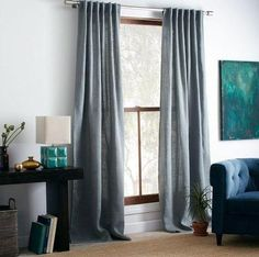 custom curtains, patio door curtains, and tie up curtains image