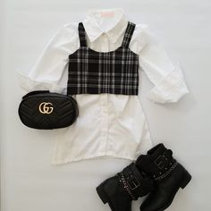 Twin Girls Outfits, Cute Little Girls Outfits, Toddler Boy Outfits, Newborn Outfits, Baby Kids Clothes, Cute Outfits, Luxury Baby Clothes, Designer Baby Clothes, Cute Kids Fashion