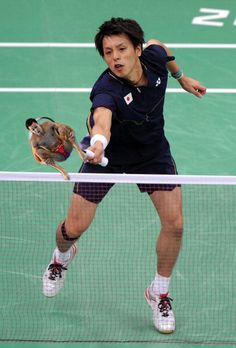 Olympic Badminton players swatting divers