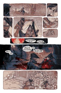 Echoes of Blood page 12 Read from the beginning | Previous | Next Pre-order Echoes of Blood Zine