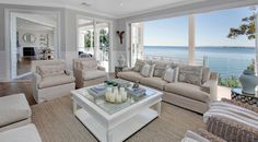 Beach Style Modular Homes Nc Beach Style Cottage Plans Hamptons Style Decor, Hamptons House, Hamptons Style Bedrooms, Hamptons Living Room, Hamptons Beach Houses, The Hamptons, Coastal Living Rooms, Home And Living, Living Room Decor