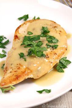 Low-FODMAP Chicken Dijon / Delicious as it Looks