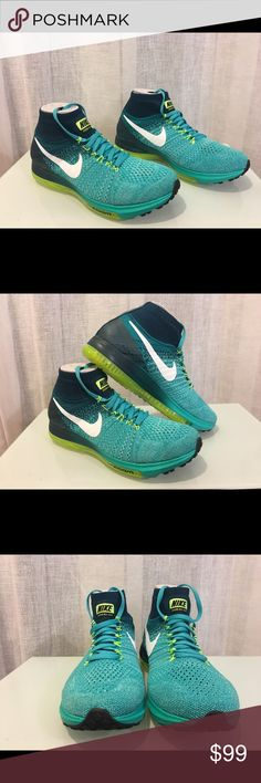 Men's Nike Zoom All Out Flyknit Size 7 No Box Top Men's Nike Zoom All Out Flyknit Size 7 (844134 313) No Box Top. Nike Shoes Athletic Shoes