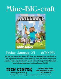 Minecraft in Port Jefferson