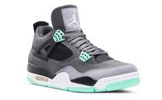 "f8dd91abf100 Air Jordan 4 ""Green Glow"" Jordans 2014"