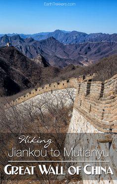 Hiking Jiankou to Mu