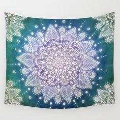 Peacock+Mandala+Wall+Tapestry+by+Jenndalyn+-+$39.00