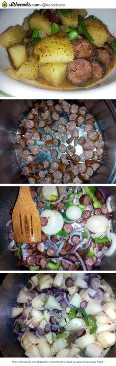 Smothered Smoked Sausage and Potatoes