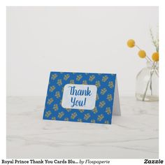 Baby Shower Nappy Thank You Card x 20 fully personalised