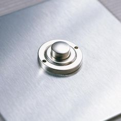 UK Stainless Steel Button Dimmer