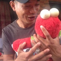 Have you hugged a monster today ?  alfie #Featured #Shuttographer #StaffPick #love #hugs #tickles #elmo