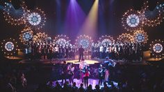 Deck the Halls: How To Build Our Christmas Stage Design | Hillsong