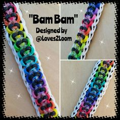 This is my own design, variated from my Hidden Rainbow Bracelet. This uses 1 loom to make but i used 2 looms and approx 175 bands for a full wrap. *** Find me and tag me on Instagram*** http://i.instagram.com/Loves2Loom/ Copyright © 2015 Loves2Loom, Under no exceptions do I allow anyone to re-create, re-record, re-upload, or …