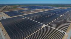 The Sandhills Solar Facility is one of the largest solar projects east of the Mississippi, with 1.6 million solar panels.
