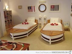 15 Boys Themed Bedroom Designs If I had bedrooms this big, any of these designs would be awesome