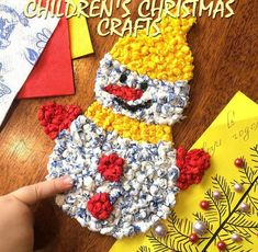 Children's Christmas Crafts   GOOD HOUSE WIFE