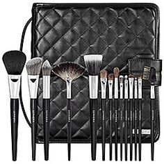 Sephora: SEPHORA COLLECTION : Deluxe Standing Easel Brush Set : makeup-brush-sets
