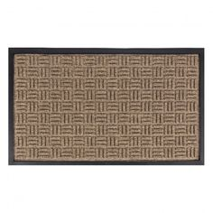 Mark your entrance with this modern styled Doormat.