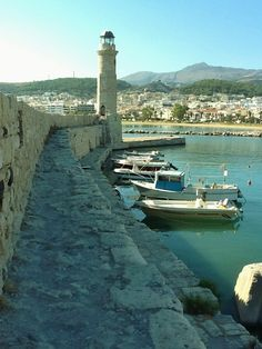 Rethymno Lighthouse, Crete