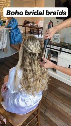 Dance Hairstyles, Bride Hairstyles, Headband Hairstyles, Wedding Hair And Makeup, Bridal Hair, Hair Makeup, Bridesmaid Hair, Prom Hair, Hair Inspo
